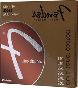 Fender 60L 0730880003 Acoustic Guitar Coated Ball End String