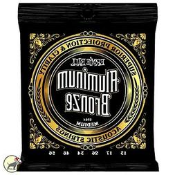 Ernie Ball 2564 Aluminum Bronze Acoustic Guitar Strings Medi