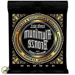 Ernie Ball 2566 Aluminum Bronze Acoustic Guitar Strings Medi