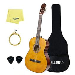 Classical Guitar Acoutstic Guitar Kids 3/4 Size 36 inch Nylo