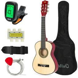 30in beginner acoustic guitar starter kit w
