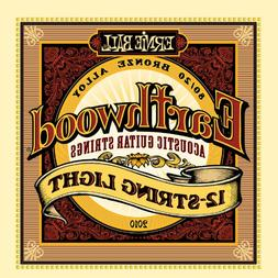 Ernie Ball Earthwood 12-String Light 80/20 Bronze Acoustic S