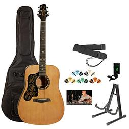 Sawtooth ST-ADN-D-KIT-3 Acoustic Guitar with Black Pickguard