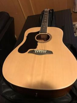 Sawtooth Acoustic Dreadnought Guitar With Bag And Tunner