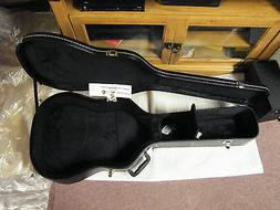CHROMACAST ACOUSTIC GUITAR CASE CC-AHC 23in. black with free