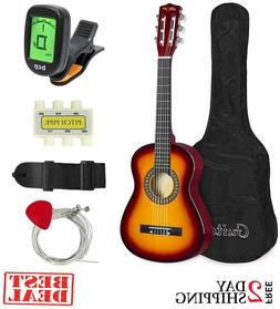 Best Choice Products 30in Kids Classical Acoustic Guitar Beg
