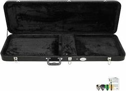 ChromaCast CC-BHC-KIT-3 Bass Guitar Hard Case with Pick Samp