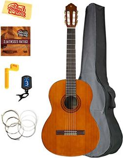 Yamaha CGS104A Full-Size Classical Guitar Bundle with Gig Ba
