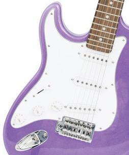 "Crescent EG-PUM 39"" Electric Guitar Starter Package - Purple"