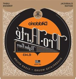 D'Addario EJ43 Pro-Arte Nylon Classical Guitar Strings, Ligh