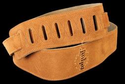 Taylor Guitars Honey Suede Logo Guitar Strap