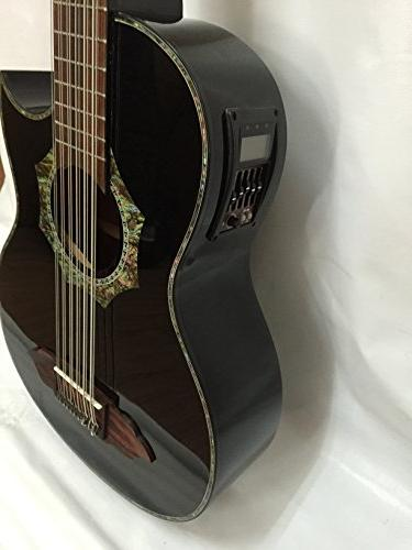 12-string Bajo Acoustic Electric with Bag