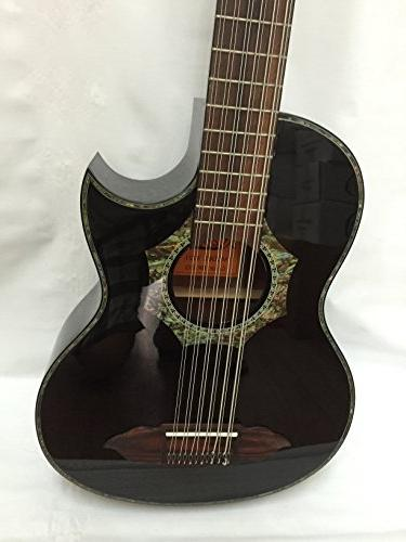 12-string Bajo Sexto Acoustic Electric Bag