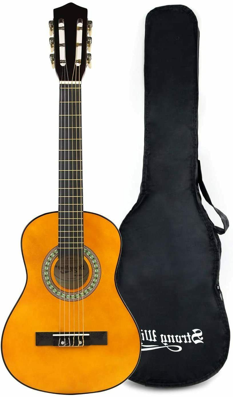 classical acoustic guitar 30 inch 6 nylon
