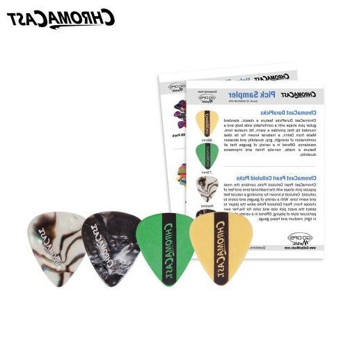 ChromaCast Acoustic Hard-Shell Guitar Pick Sampler
