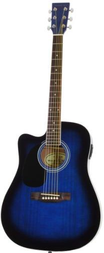 Jameson Size Thinline Acoustic Electric with Case & Picks Right