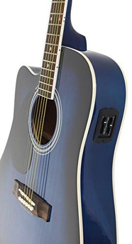Jameson Guitars Size Thinline Acoustic Electric with Bag