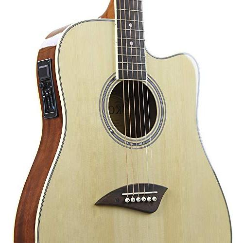 Kona Electric Dreadnought in Natural High Finish