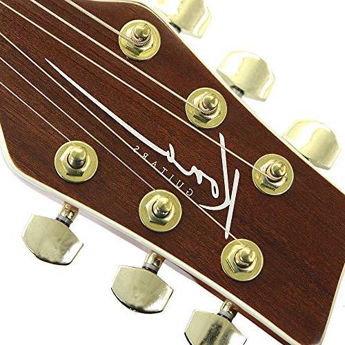 Kona K2LN Left-Handed Acoustic in Natural High Gloss Finish