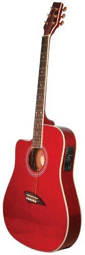 Kona K2TRD Acoustic Electric Dreadnought Cutaway Guitar in T