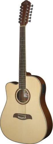 Oscar Schmidt OD312CE 12-Strings Acoustic-Electric Guitar -