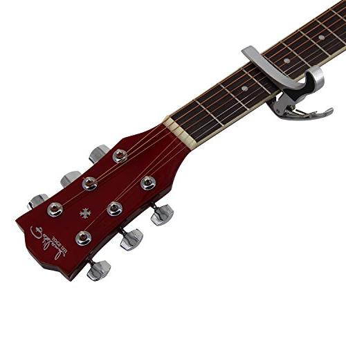 Guitar Cutaway 6 Steel Brownburst