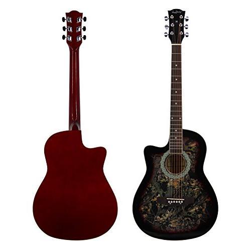 Bailando Guitar Cutaway Mahogany, Steel