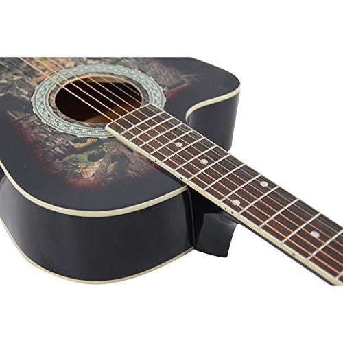 Bailando Inch Guitar Mahogany, Steel Brownburst
