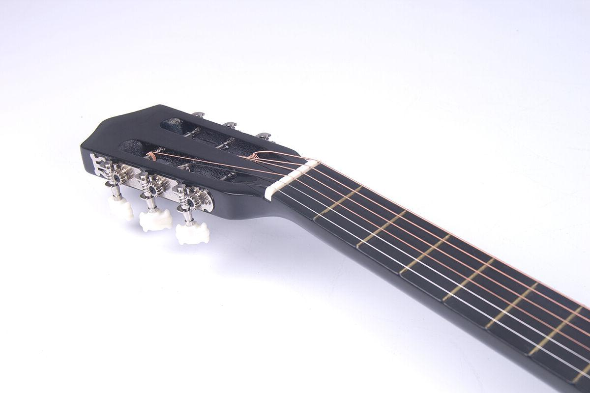 Electric Guitar Design With Strap, Tuner New