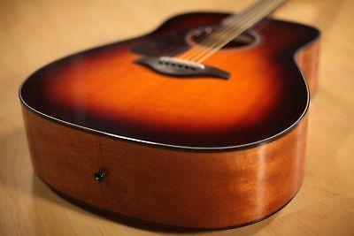 Yamaha FG800 Acoustic - Brown ESSENTIALS BUNDLE