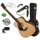 Yamaha FG800 Acoustic Guitar - Natural STAGE ESSENTIALS BUND