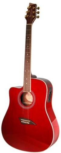 Kona K1ETRD Acoustic Electric Dreadnought Cutaway Guitar in