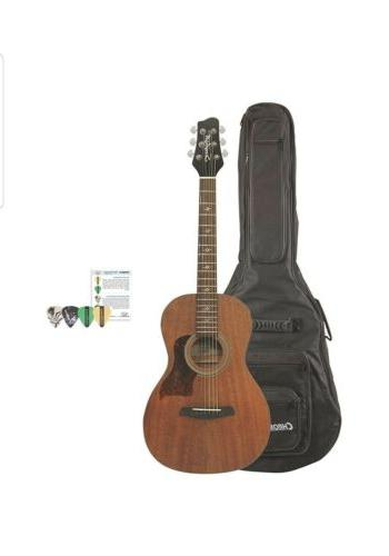 Sawtooth ST-MH-AEP-KIT-1 Mahogany Parlor Acoustic Electric G