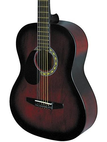 Rogue Starter Acoustic Guitar Red