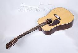Martin HD12-28 12-String New 2018 Reimagined Model With Case