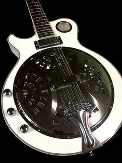 NEW 6 STRING RESONATOR ELECTRIC ACOUSTIC GUITAR CONE SPIDER