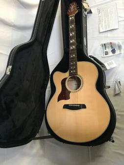Sawtooth Solid Spruce Top Jumbo Cutaway 6 String Acoustic El